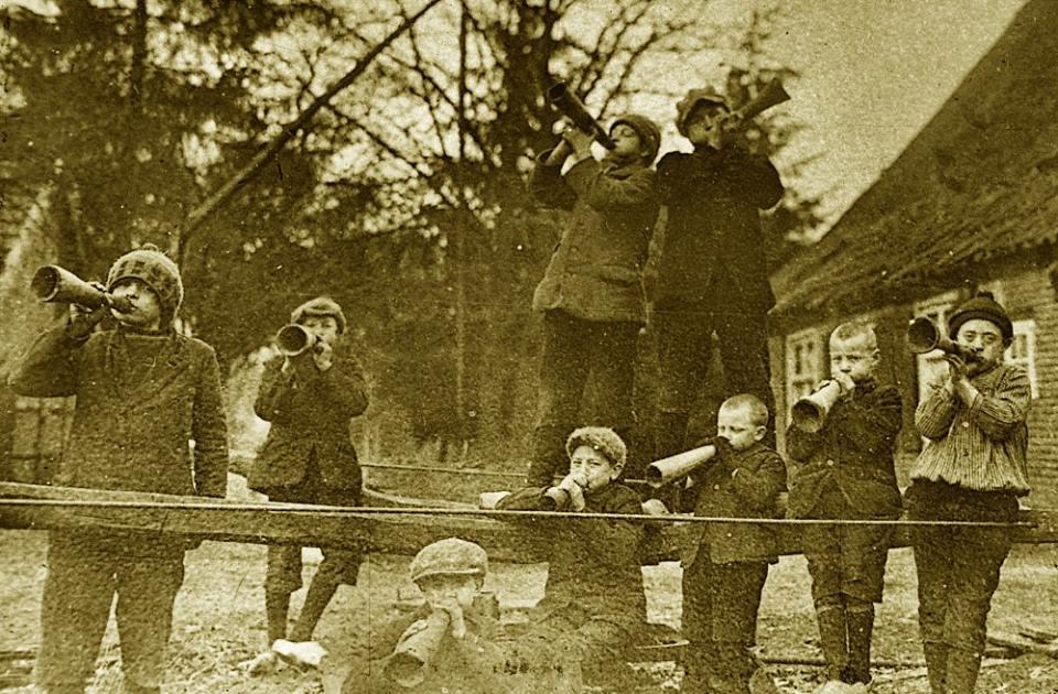 de boerhoorn Nw Schoonebeek 1930